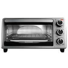 Toaster Oven Broil Black Decker To1303sb 4 Slice Toaster Oven Includes Bake Pan