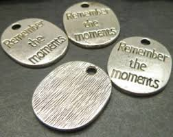 inspirational charms remember charms etsy