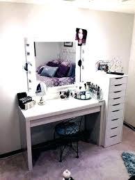 black makeup desk with drawers black makeup vanity table kaivalyavichar org