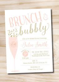 chagne brunch invitations chagne bridal showers ideas weddi on colors free chagne