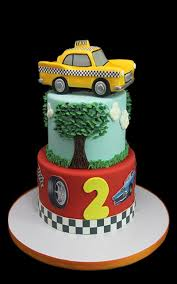 3d taxi race car theme cake butterfly bake shop in new york
