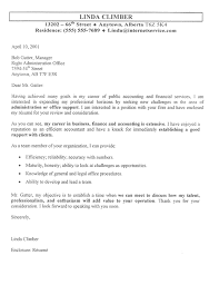 sample cover letter for accounting job sample cover letters