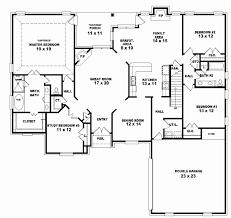 4 bedroom 1 story house plans 2 bedroom 1 story house plans fresh two story 4 bedroom 3 bath