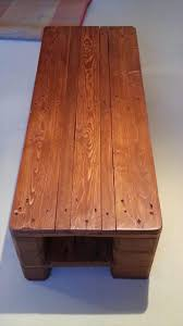 dark stained wood pallet coffee table pallet furniture