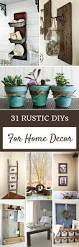 31 rustic diy home decor projects craft rustic decor and house