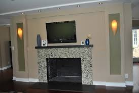 architecture fireplace faux brick panels decoration ideas for