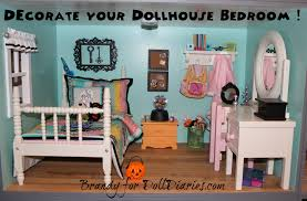 Dollhouse Decorating by Decorate Your Dollhouse Bedroom Doll Diaries