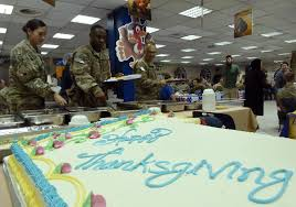 thanksgiving 2014 us troops overseas celebrate with