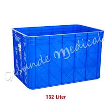 Keranjang Industri toko box kontainer plastik keranjang plastik serbaguna ukuran
