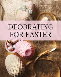 Best Place To Buy Decorations For The Home Decorating For Easter Martha Stewart