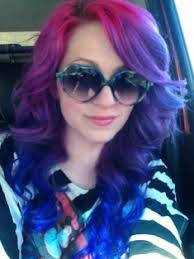 how to get splat hair dye out of hair purple pink red hair google search hair pinterest splat