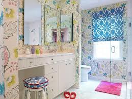 Kitchen Wallpaper Design Girls Bathroom Design Home Design Ideas