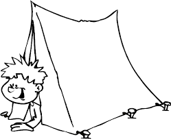 kids fun 14 coloring pages camping
