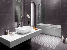 Modern Black And White Bathroom by Wall Mounted Bathroom Counters Picture Gallery