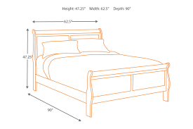 Height Of Bed Frame Alisdair Sleigh Bed Furniture Homestore