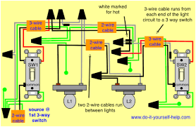 wiring diagrams for household light switches in how to wire