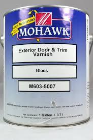 Exterior Door Varnish Mohawk Exterior Door And Trim Varnish Gloss Gal M603 5007 74 46