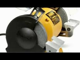 Dewalt Dw756 6 Inch Bench Grinder 8 Inch Bench Grinder My Personal Collection For 2014 Youtube