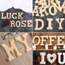 10x1 5cm thick wood wooden letters alphabet diy bridal wood alphabet letters ebay
