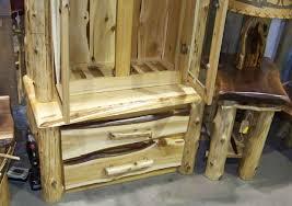 Pine Gun Cabinet Rustic Furniture New Items