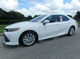 2018 new toyota camry le automatic at central florida toyota