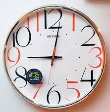 wall clocks that don u0027t tick