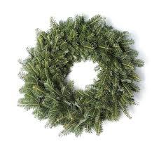 fresh wreaths 24 inch fresh fraser fir christmas wreath snowgreens