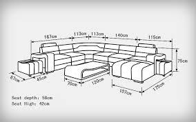 Standard Sofa Length by Popular Modern Living Standard Furniture Buy Cheap Modern Living