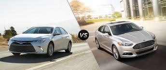 Ford Fusion Vs Honda Accord Reliability 2016 Toyota Camry Vs 2016 Ford Fusion