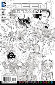 image teen titans vol 5 16 coloring book variant jpg dc