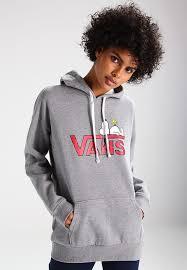 snoopy christmas sweatshirt vans peanuts snoopy hoodie grey zalando co uk