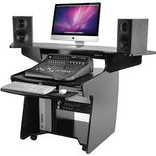 Computer Desk Work Station Omnirax Coda Mixing And Digital Editing Workstation Desk Coda B