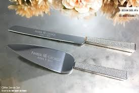 wedding cake knife uk wedding cake knife set engraved personalized gold leaf and server