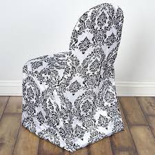 Black And White Chair Covers Chair Covers Collection On Ebay
