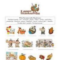 thanksgiving esl activity worksheets natashainanutshell
