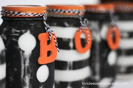 halloween painted mason jars eighteen25