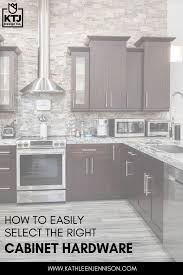 choosing hardware for white kitchen cabinets how to easily select the right cabinet hardware ktj design co