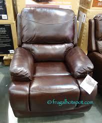 simon li leather sofa costco costco sale simon li furniture leather glider recliner 319 99