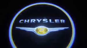 chrysler logo kit luci led cortesia portiera logo chrysler shadow ghost light