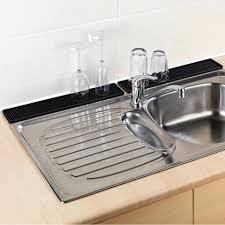 kitchen sinks with backsplash kitchen sinks vessel sink mats with drain hole triple bowl