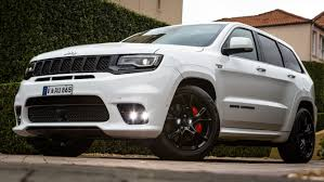 monster jeep grand cherokee 2017 jeep grand cherokee srt review road and tracks