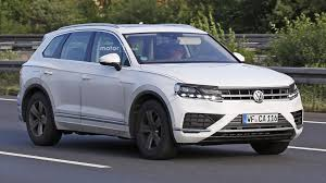 volkswagen van 2018 2018 vw touareg will probably look a lot like this