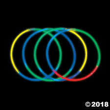 glow necklaces tri color glow necklaces