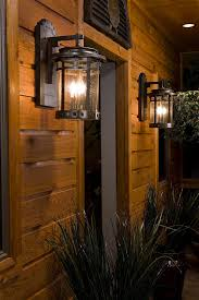 Porch Sconce Rustic Outdoor Lighting Spaces Rustic With Bronze Outdoor Lighting