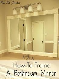 framed bathroom vanity mirrors home decoration ideasframed canada