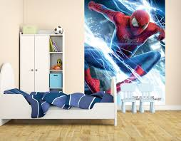spiderman wall mural decal color the walls of your house spiderman wall mural decal spiderman wall stickers wall stickers ireland