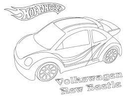 hotwheels coloring pages wheels volkswagen new beetle coloring page netart