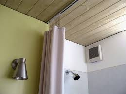 Shower Curtain Tracks Hospital Hardware For Hanging Shower Curtains Apartment Therapy