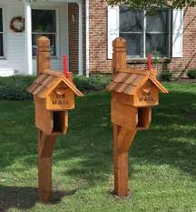 Flag Poles Lowes Cedar Mailbox Post With Paper Box And Chimney Flagcedar Lowes