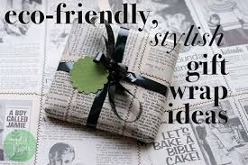 recycled christmas wrapping paper eco friendly and green gift wrapping ideas for this season